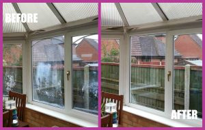 misted double glazing replaced Cheshire